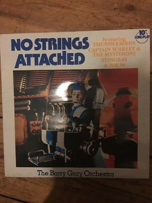 """Barry Gray Orchestra:No Strings Attached 10"""" (Thunderbirds/Stingray/Mysterons)"""