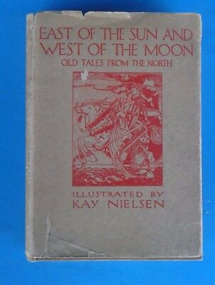 East of the Sun and West of the Moon Doran 1st American 1914 KAY NIELSEN DJ/HC