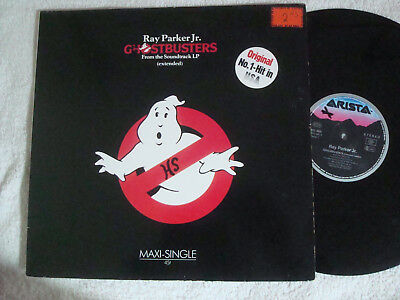 """RAY PARKER Jr.  GHOSTBUSTERS - EXTENDED - 12"""" MAXI !!!"""
