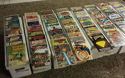Lot of 30 comic books NO DUPLICATES  (Marvel, DC, Dark Horse. Image etc.)