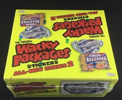 Wacky Packages 2005 All New Series 2 Unopened Stickers In Original Box Topps