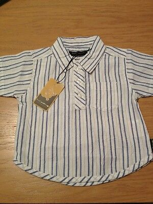 BNWT Boys Shirt By Babysting (6-12 Mths) **FREE UK P&P**