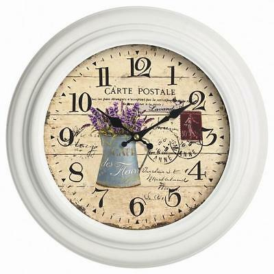 New Gardman Lilas Wall Clock Indoor/Outdoor 32cm