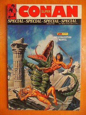 Super CONAN N° 9. Passage. Mon Journal. Marvel de 1989