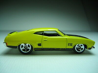Hotwheels Ford Falcon Xb 351 Nr Mint Yellow  Light Creases, Cars Mint !!