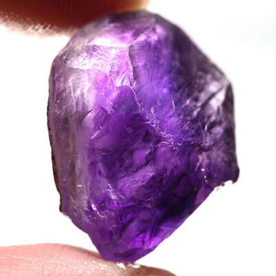 26.85Ct.outstanding! Rough Dark Purple Natural Amethyst Brazil Free Shipp!