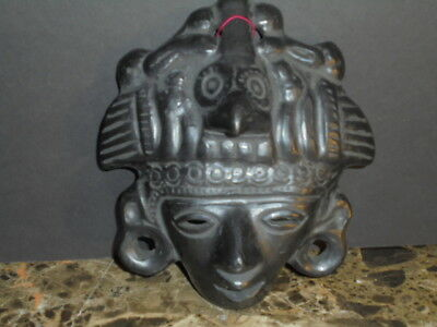 """Mask Black Egyptian? Origins Unknown Materials Unknown Heavy Weight 7"""""""