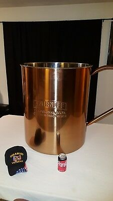 "Giant Smirnoff Moscow mule ""copper"" cup"