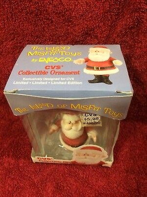 Cvs Misfit Ornament Santa