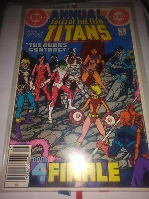 Tales Of The New Teen Titans #3 VF/NM ANNUAL  1984   DC Comics Nightwing Cyborg