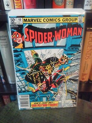 Spider-Woman (1st Series) #40 (Newsstand, 1980)