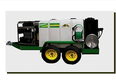 Hot Water Pressure Washer Recovery & Recycling Portable System-Trailer Mounted!