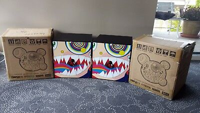 Murakami Mr Dob Vinyl Figure Gold & Red Blue Edition Bait Complexcon Original