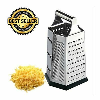Metal Cheese Grater Vegetable Slicer Stainless Steel Non-skid Base Kitchen Tool