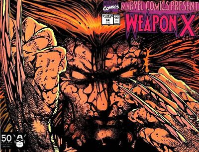 Marvel Comics Presents #84 VF 1991 Marvel Weapon X part 12 Comic Book
