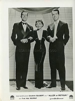 CLAUDETTE COLBERT FRED MacMURRAY THE GILDED LILY 1935 VINTAGE PHOTO ORIGINAL #2