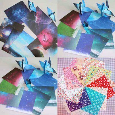 70 sheets Origami Paper Beautiful sky Single Sided Folding Paper Arts and Crafts