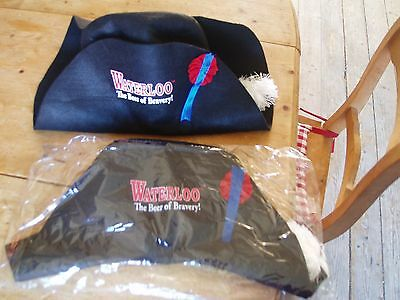 Waterloo hoed hat new in blister the beer of bravery