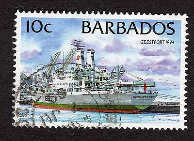1999 Barbados 10c Geestport 1994 SG1076 FINE USED R32601