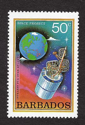1979 Barbados 50c Intelsat over Atlantic SG644 MNH R31259