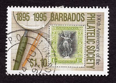 1996 Barbados $1.10 Cent Philatelic Society SG1068 FINE USED R32756