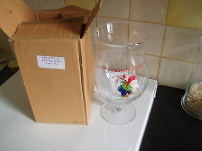 Chouffe glas verre beer glass new 3 L