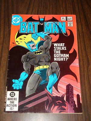 Batman #351 Dc Comics Dark Knight Nice Condition September 1982