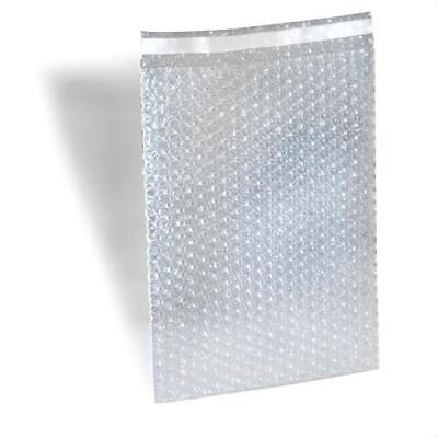 """4"""" x 7.5"""" Clear Bubble Out Bags Padded Envelopes Shipping Self Seal 7700 Pieces"""
