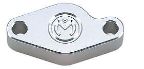Moose Racing E-Brake Block-Off Plate Polished Fits 04-08 Arctic Cat 400 DVX