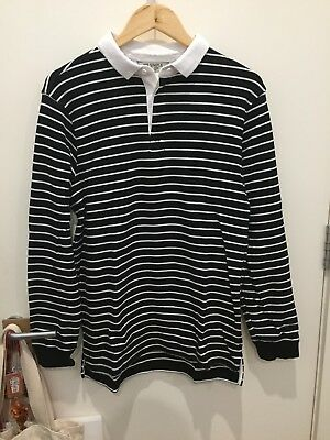 Mr Simple long sleeve Rugby jersey-size Medium