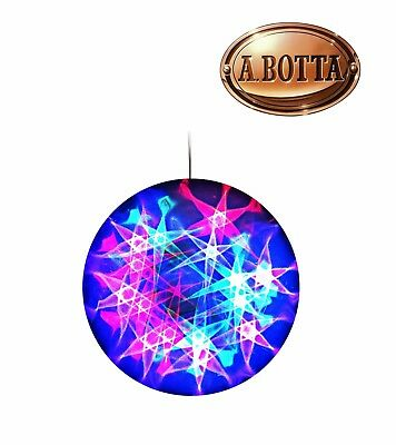 Sfera 3D Star 96 LED Multicolor Ridem Karma GS 30T Effetto Luce Multistar Stelle