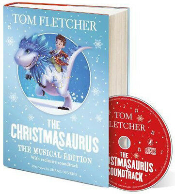 The Christmasaurus: The Musical Edition: Book and Soundtrack *BRAND NEW*