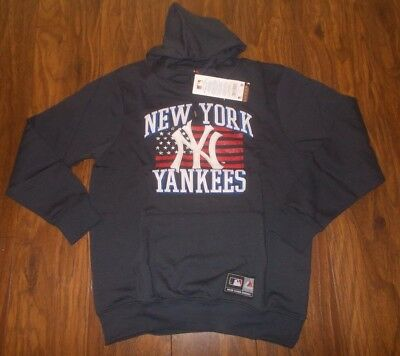Official Majestic New York Yankees MLB Hoodie Sweat Top (L)