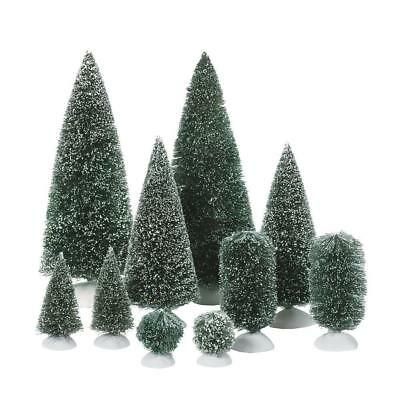 Department 56 Accessories for Village Collections Bag-O-Frosted Topiaries Tree