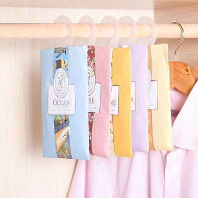 Natural Air Freshener Perfume Vanilla Sachets Paper Bag for Car Home Fragrances