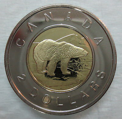 2005 Canada Toonie Proof-Like Two Dollar Coin