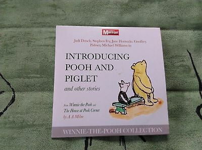 Winnie The Pooh CD audiobook Introducing Pooh and Piglet