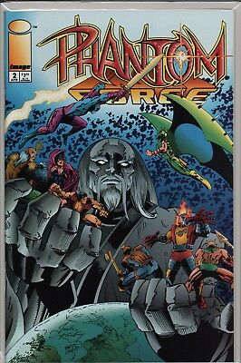 Phantom Force #2 1994 Jack Kirby      A4.122