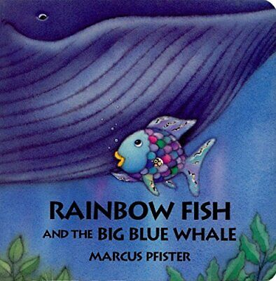 Rainbow Fish and the Big Blue Whale by Pfister, Marcus Board book Book The Cheap