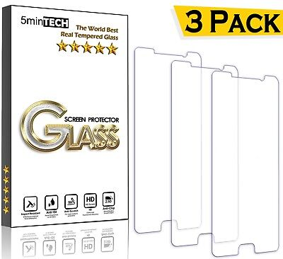 [3 PACK] Lot Tempered GLASS screen protector for SAMSUNG GALAXY S8/ S7/ S6/ S5