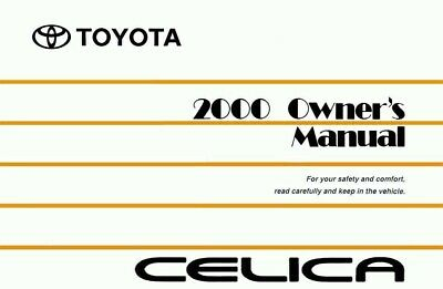 1981 toyota celica owners manual user guide reference operator book rh picclick co uk New Balance Manuals User Guide Icon