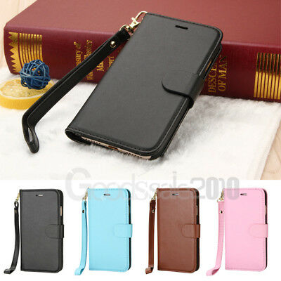 Magnetic Leather Flip Wallet Case Cover For Apple iPhone 6s / iPhone 7 Plus