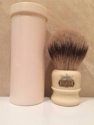 Simpson Chubby 2 Shaving Brush in Best Badger Hand Made In Great Britain