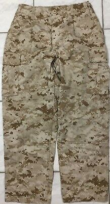 Usmc Desert Marpat Trousers Small-Xshort Pre-Owned