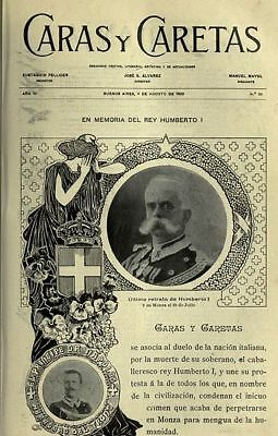 Vintage Magazine Cover From 1900 Fast Free Delivery Option Collector's Image