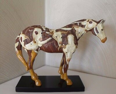 Western ~ Trail of Painted Ponies Cowpony Horse Figurine 2E/0085 Retired