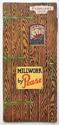 1929 Millwork by Pease Catalog-The Pease Co., Cincinnati, OH