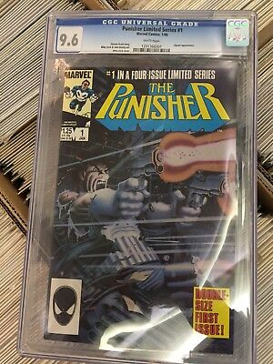 The Punisher #1 (CGC 9.6; Jan 1986, Marvel)