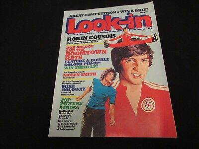LOOK-IN Magazine 26 Jan 1980 #5 Boomtown Rats Colour Centre - VGC - FREE UK P&P