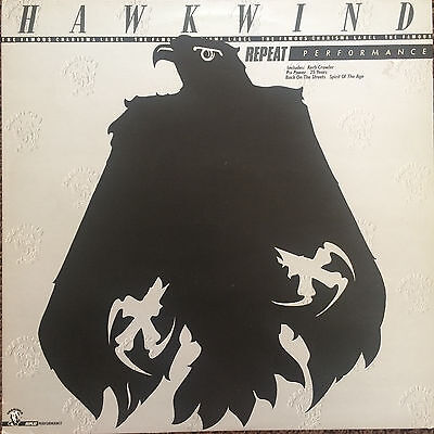 "HAWKWIND ""Repeat Performance"" LP (Charisma 1980 UK) Unique compilation! (Fi)"